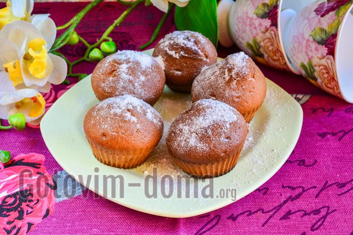 Творожные кексы без масла рецепт с пошагово в
