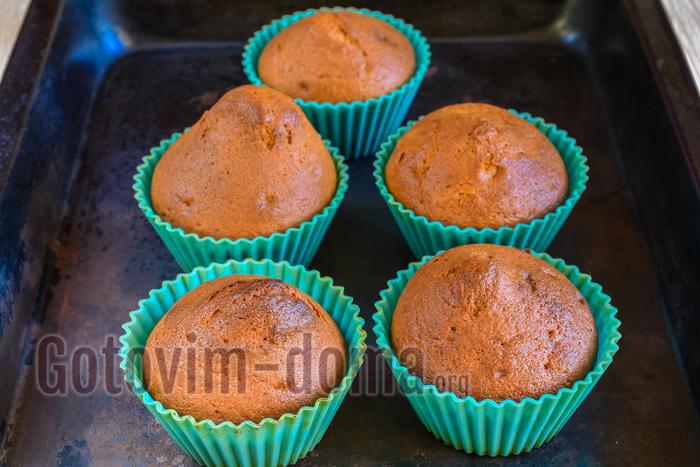 Кексы на кефире рецепты простые в силиконовых формочках с пошагово простой