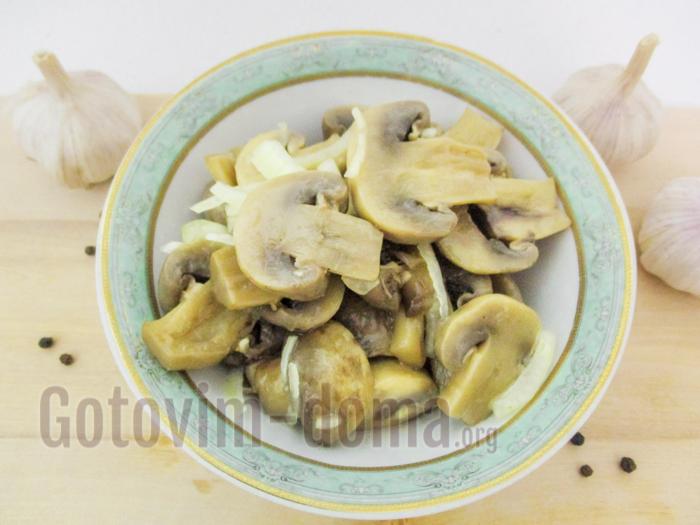Маринованные шампиньоны в домашних условиях быстро и вкусно рецепты 564