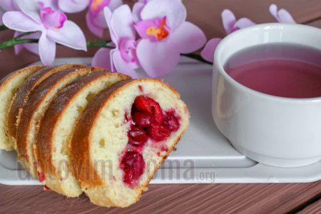 Пирог сдобный с вишней рецепт пошагово в духовке