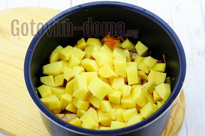 Тушеная картошка в мультиварке поларис рецепты с пошагово