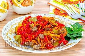 Домашние рецепты салатов
