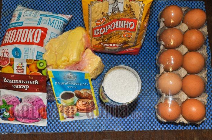 торт рыжик ингредиенты