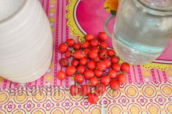компот из боярышника ингредиенты