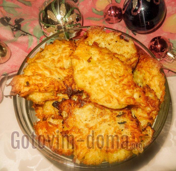 домашние картофельные драники