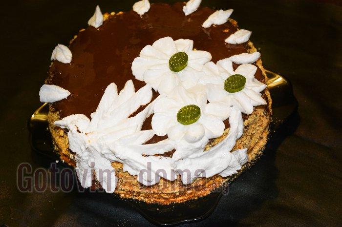 домашний торт рыжик рецепт с фото