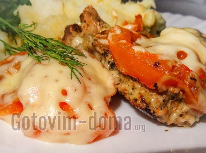 мясо с сыром рецепт с фото