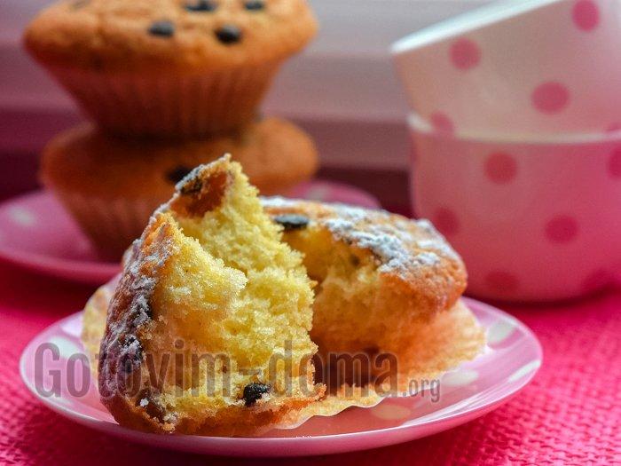 вкусные кексы с изюмом