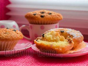 Домашние кексы, рецепт с фото