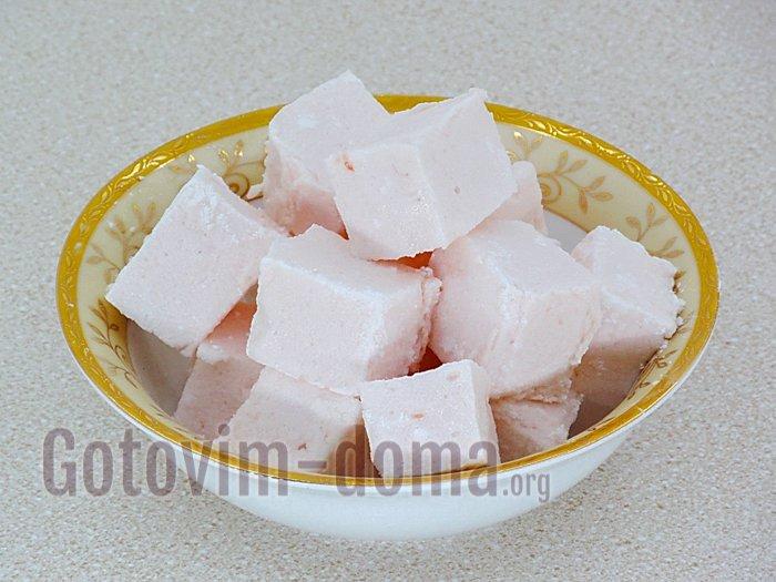 суфле с желатином рецепт