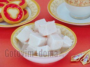суфле с желатином
