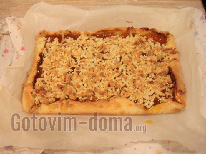 венское печенье с вареньем выпекли