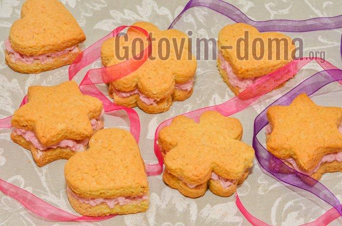 вкусное домашнее печенье готово