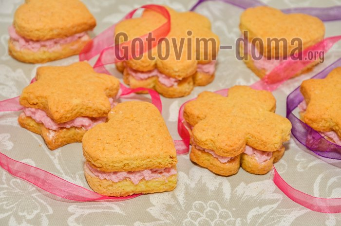 самое вкусное домашнее печенье