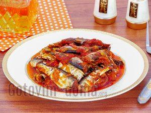 Килька в томатном соусе рецепт