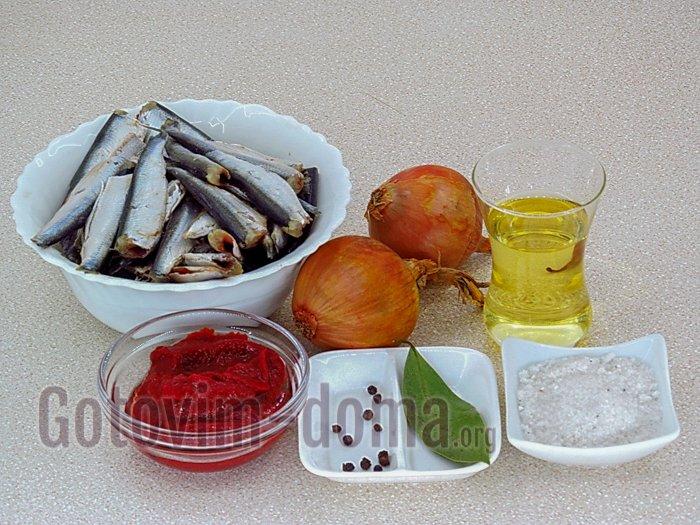 килька в томате ингредиенты
