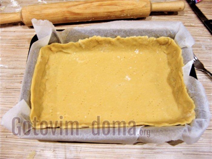 формируем основу печенья