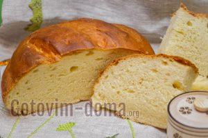 Домашний хлеб на сметане