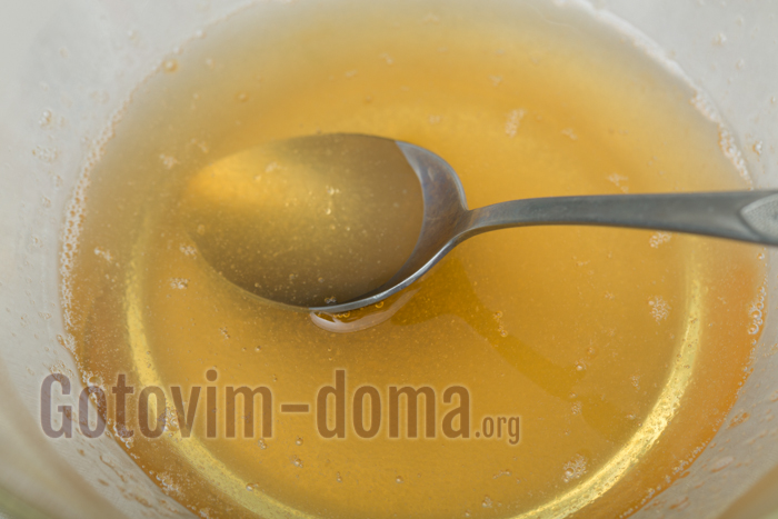 желатин разводим в ананасовом соке