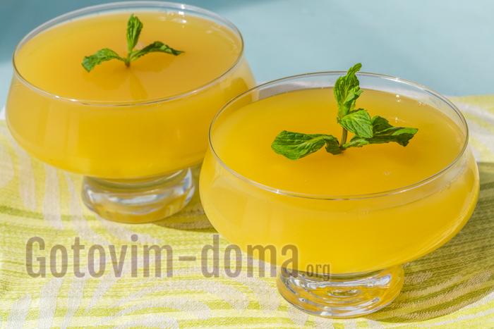 рецепты низкокалорийных желе с соком пошагово с фото