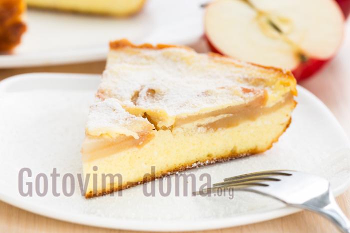 вкусный рецепт запеканки с яблоками в мультиварке
