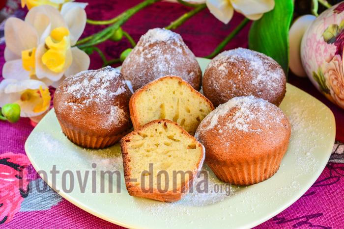 творожные кексы рецепт с фото пошагово