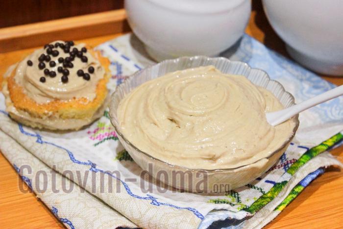 необычный крем для торта рецепт