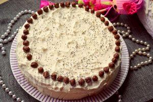 Пошаговый рецепт домашнего бисквитного торта