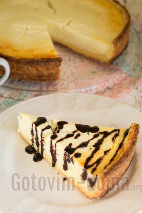 Нежный и вкусный домашний творожный пирог