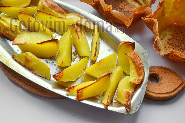 картофель запечь