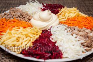 татарский салат рецепт