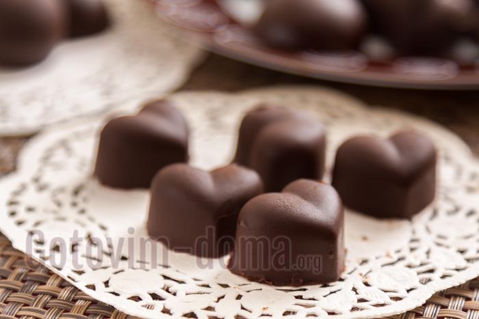 готовим дома шоколадные конфеты рецепт