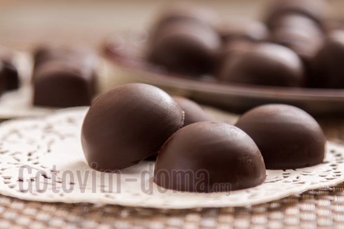 домашние простые шоколадные конфеты