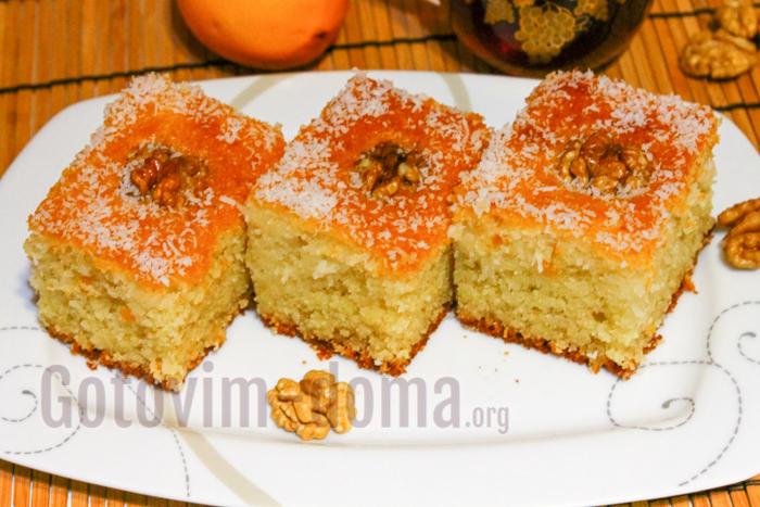 Арабский пирог Басбуса