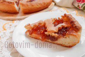 пирог с вареньем рецепт пошагово