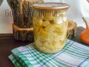 домашние кабачки на зиму рецепт