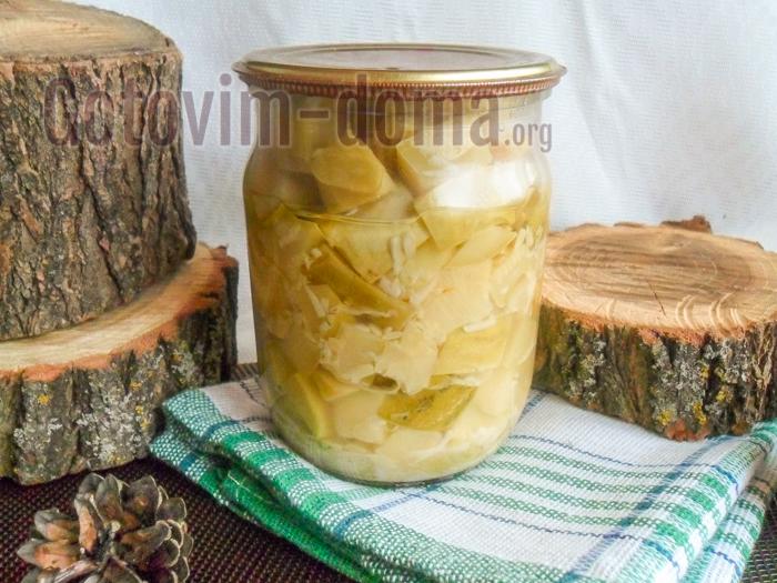 кабачки как грибы рецепт