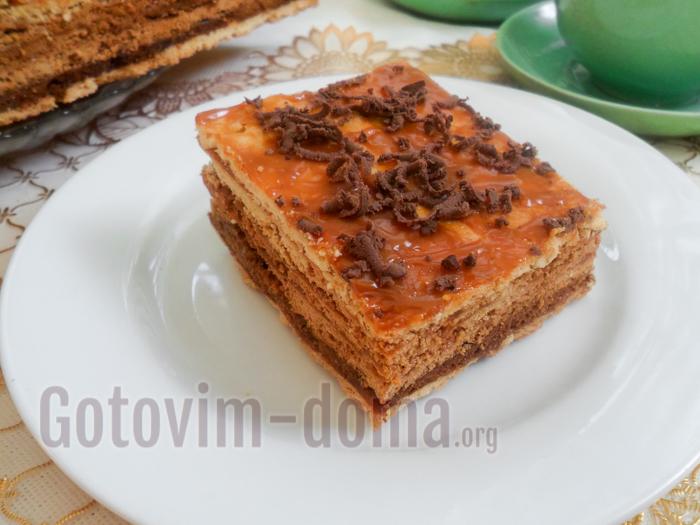домашний торт микадо рецепт с фото
