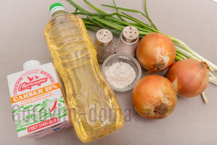Готовим дома сливочный соус ингредиенты