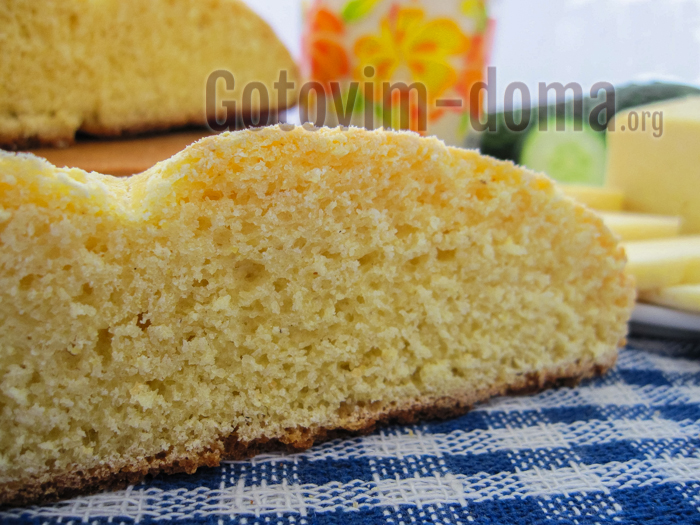 вкусный кукурузный хлеб рецепт