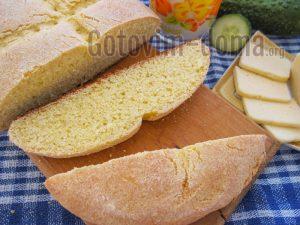 Кукурузно-пшеничный хлеб рецепт