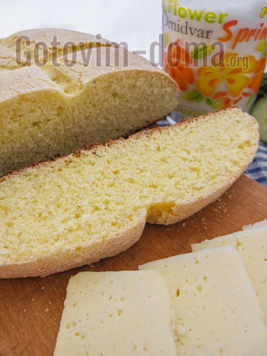 хлеб из кукурузной муки в домашних условиях