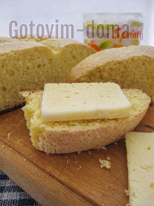 хлеб из кукурузной муки рецепт