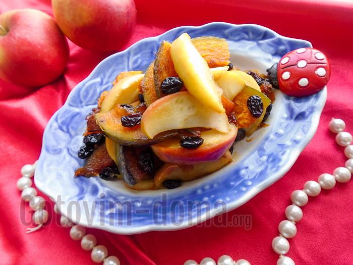 рецепт вкусного десерта из тыквы