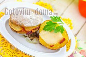 Вкусная картошка с салом, рецепт