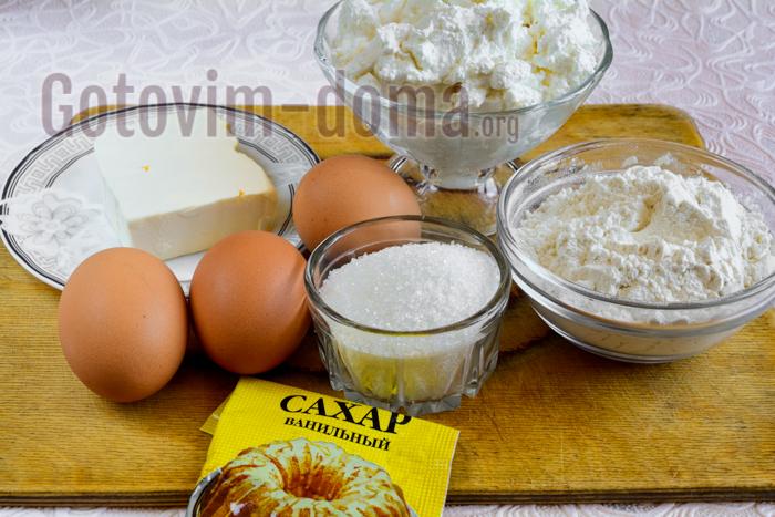 Ингредиенты для приготовление коврижки
