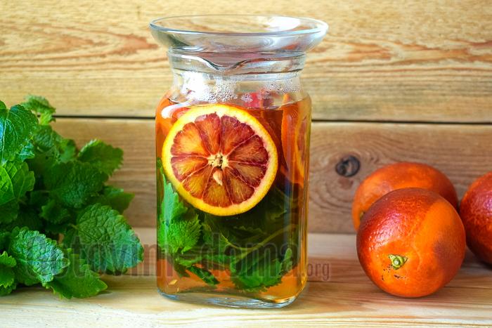 напиток из мелиссы рецепт с фото