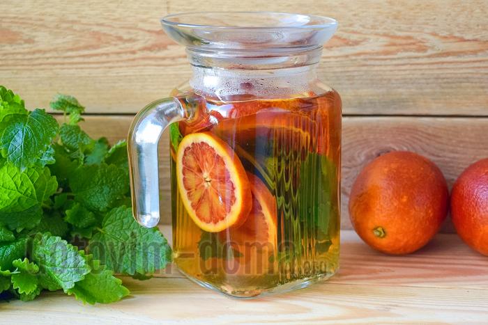 домашний напиток из апельсинов рецепт