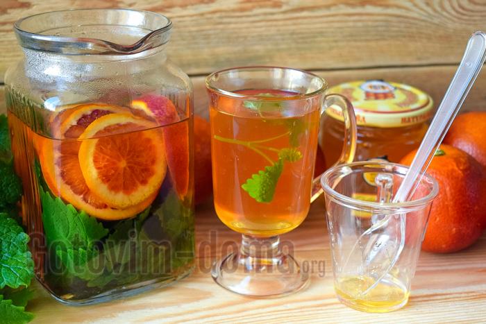 вкусный домашний апельсиновый напиток рецепт
