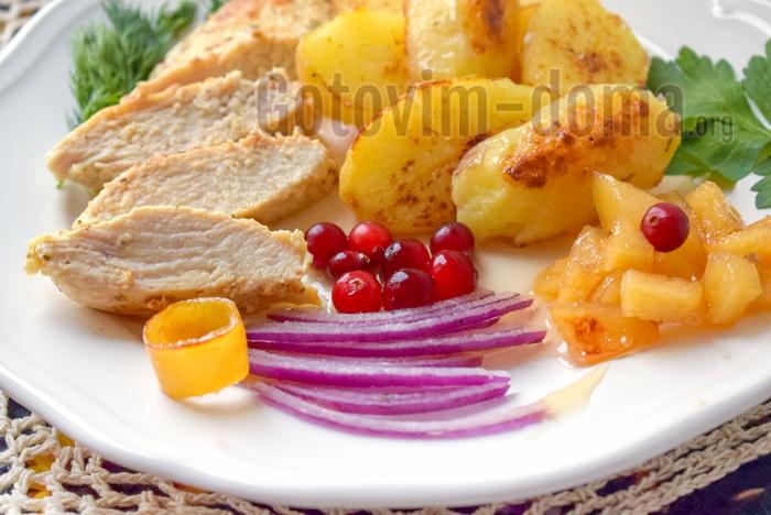 Простой рецепт курицы с картошкой по-домашнему